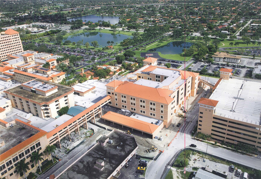 Baptist Hospital of Miami: ED/Bed Tower Addition